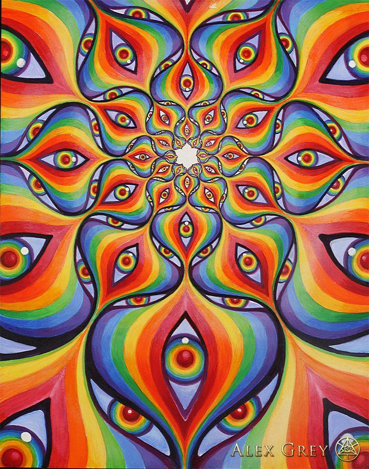 Spectral Lotus - Alex Grey - www.alexgrey.com