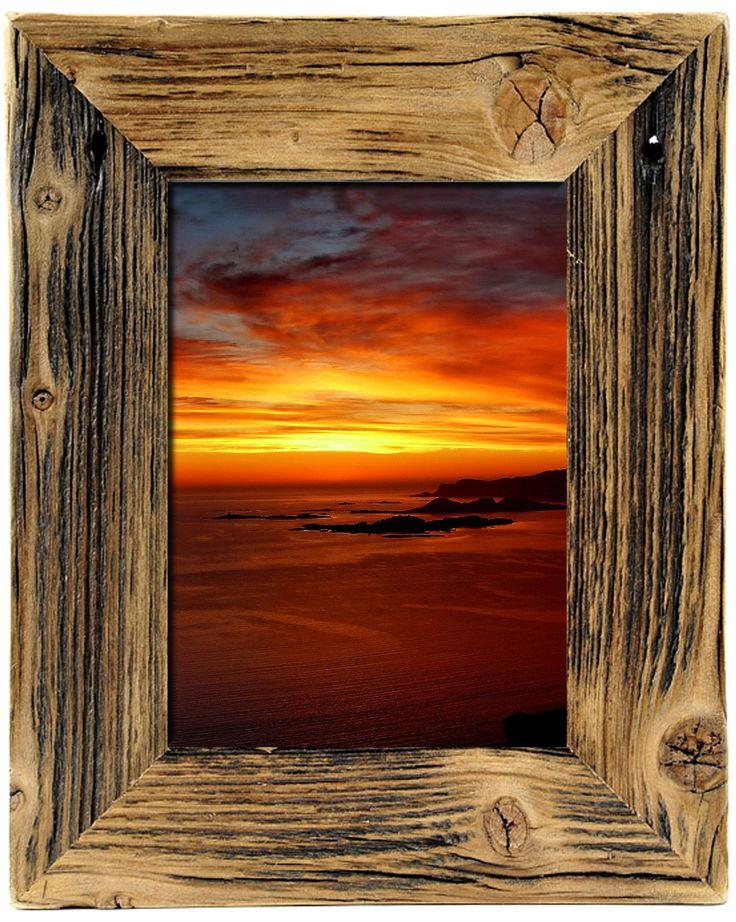 Bilderrahmen Holz Rustikal 52 best fotorahmen aus recyceltem holz images on wood