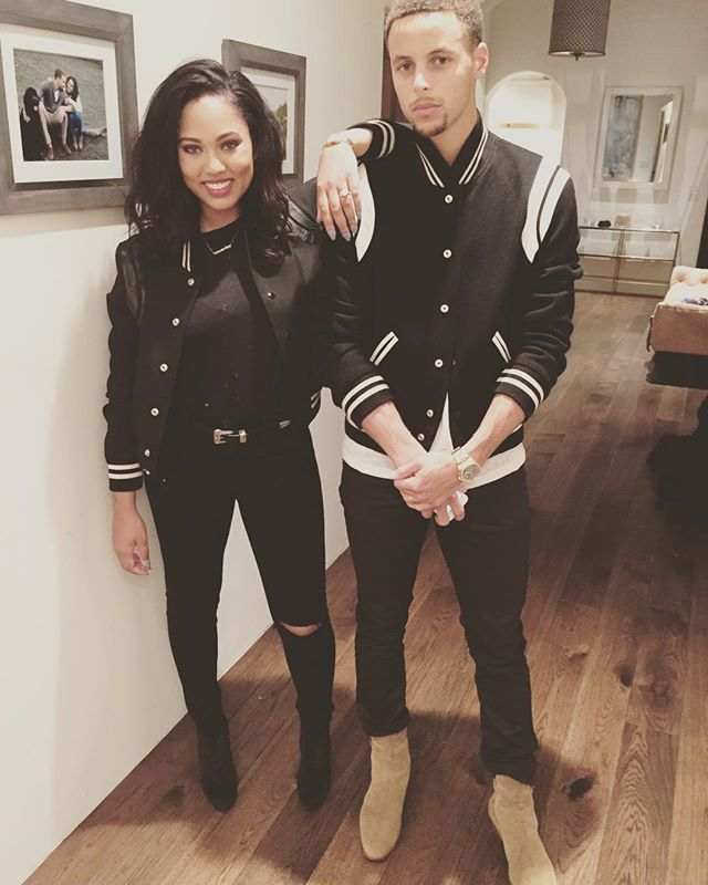 Pin for Later: Steph and Ayesha Curry Are Already the Best Couple of 2016 — Here's 17 Reasons  Seriously, the coordinating outfits are too good.