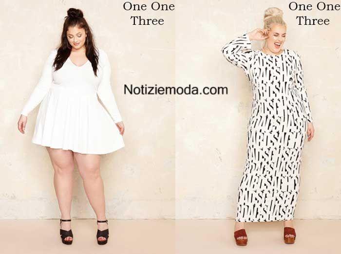 Curvy One One Three primavera estate 2016 moda donna