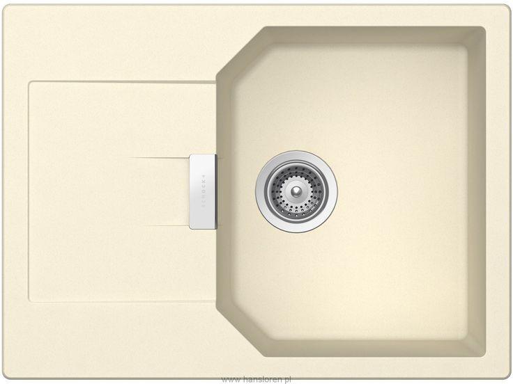 Manhattan D-100 S A Schock zlewozmywak 1 komorowy z ociekaczem 690x510 crema - MAND100SAGCM  http://www.hansloren.pl/Zlewozmywaki-granitowe/Zlewozmywaki-1-komorowe/SCHOCK