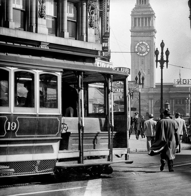 black & white photographs of san francisco from the 1940s and 1950s | fred lyon