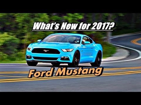 Ford Mustang review - What's New for 2017?