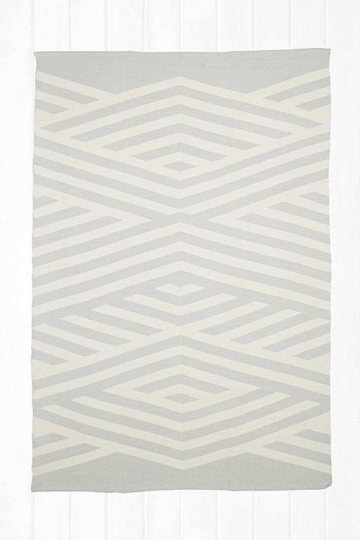 UO Tove 5x7 Rug in Grey