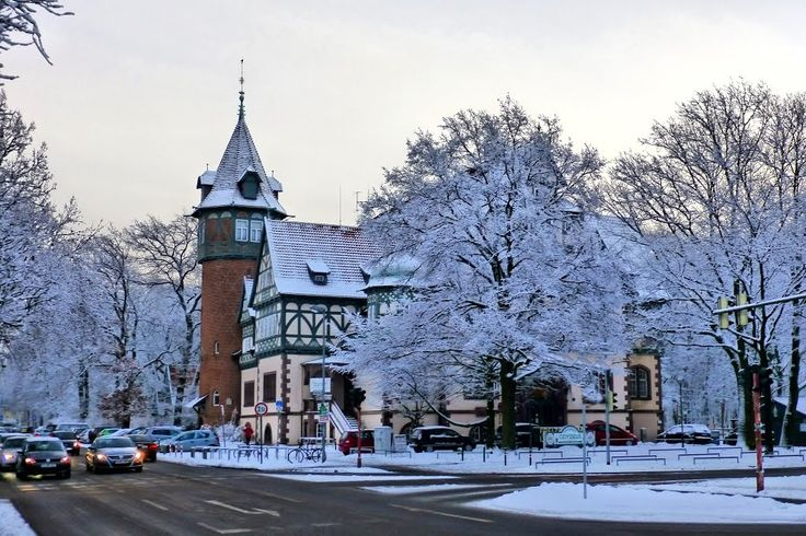 """HANNOVER List - A winter day in Hannover: The """"Lister Turm"""""""