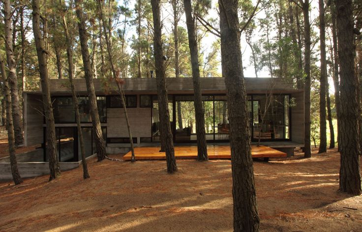 Casa Cher - Bakarquitectos - for integration into forest