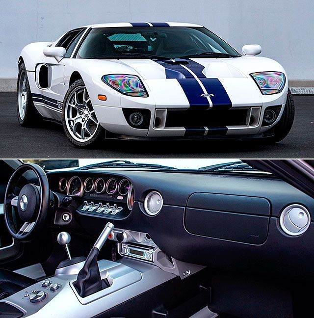 Twin Turbo 2006 Ford Gt Hit 293 6 Mph Sets A Standing Mile