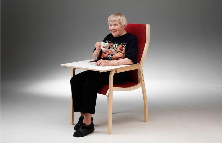 Kari  Martela Kari, een stoel van PLAN@OFFICE ontworpen door Martela.