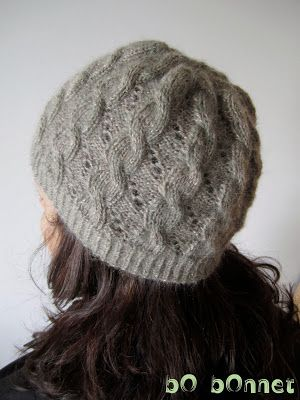 La Nébuleuse de Dalila ; tuto bonnet d'Hermione.