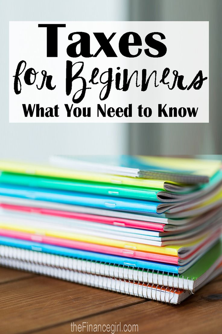 Taxes for beginners - what you need to know | Financegirl