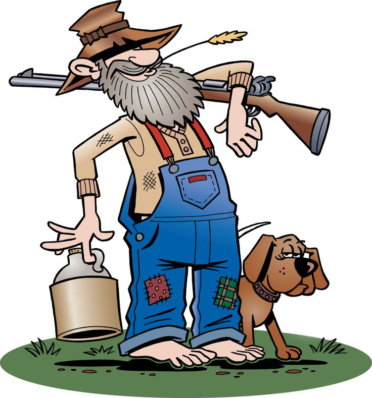 Hillbilly Clip Art | basically been watching too many of ...