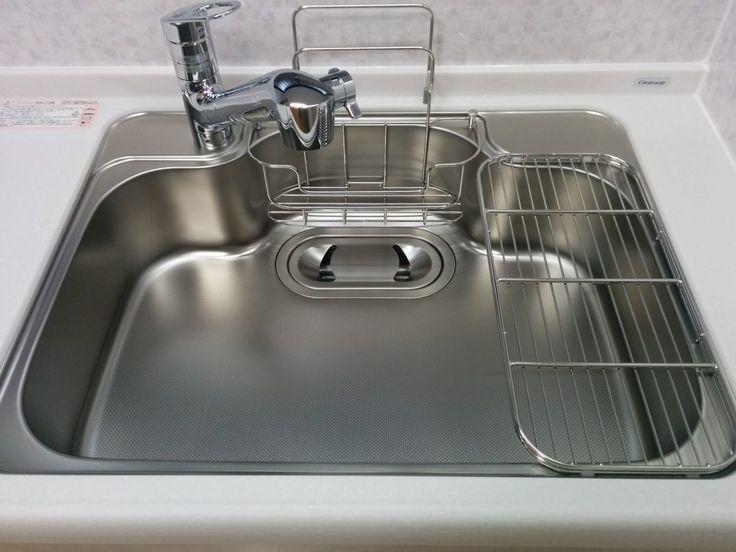 クリナップ クリンレディ 美・サイレントシンク(小)SDシンク/ステンレス 浄水器一体型エコシングル水栓(シャワーホース付)