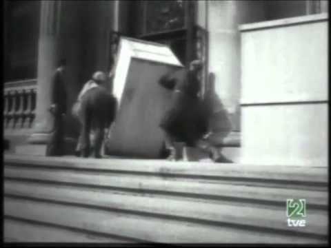 Guerra civil española Torres de Serranos Museo del Prado - YouTube