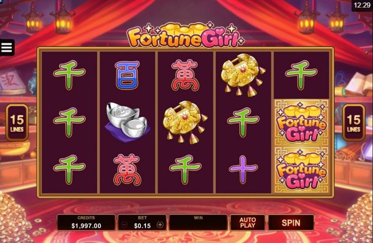 The Fortune Girl slot machine has a theme based on Japanese comics. #Tablegames #free #freeslots #freeplay #jackpot #bigwin