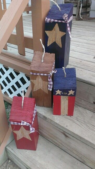 Firecrackers I made from wood scraps.