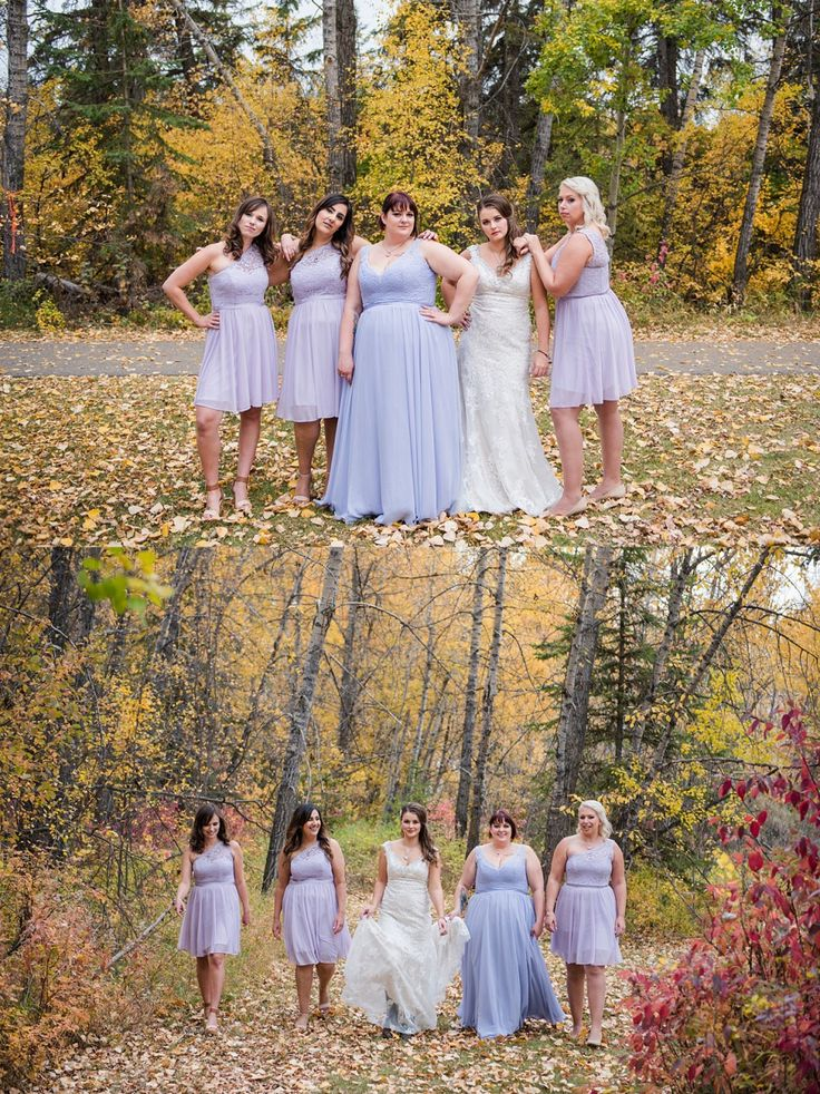 Light Purple Bridesmaid For A Rustic Fall Wedding Photo Red Deer Photographers