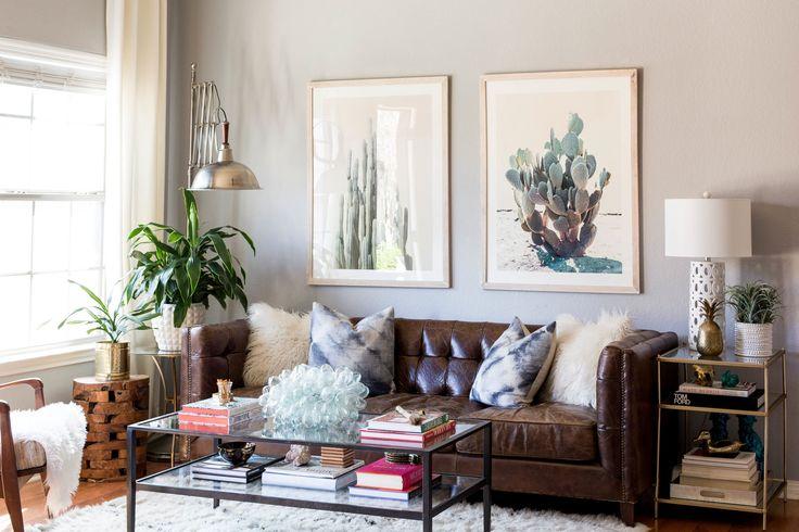 Best 25 dark brown couch ideas on pinterest - Dark brown couch living room ideas ...