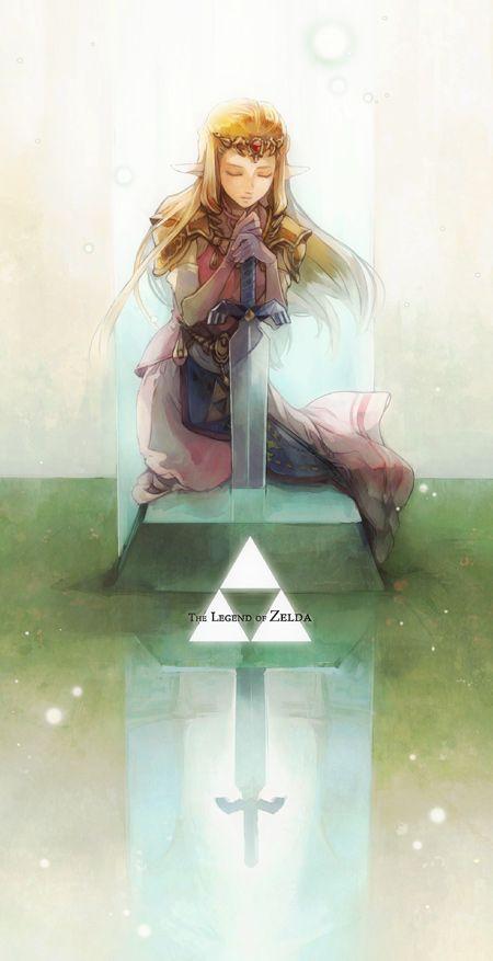 The Legend of Zelda: Ocarina of Time, Adult Princess Zelda / 「祝福があらんことを」/「s+s」のイラスト [pixiv]