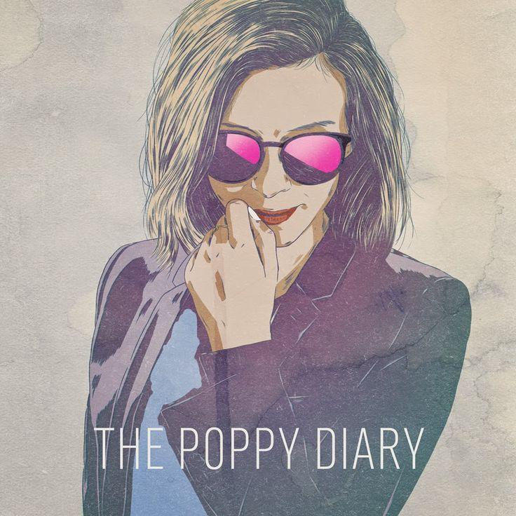 portrait réalisés par Faunesque pour The Poppy Diary blog.