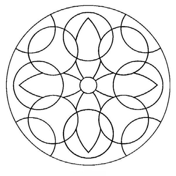 Como Fazer Mosaico De Papel Fotos Mandalas Para Colorir