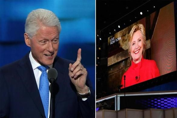 PHILADELPHIA — Hillary Clinton on Tuesday became the first woman to be nominated for president by a major political party, an historic and emotional moment that brought Democratic delegates in a packed statdium to their feet in a resounding show of unity.