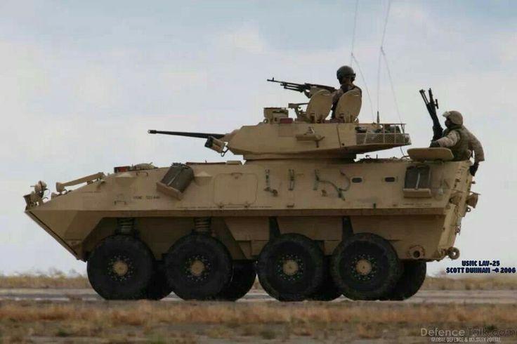 Light armored vehicle (LAV)