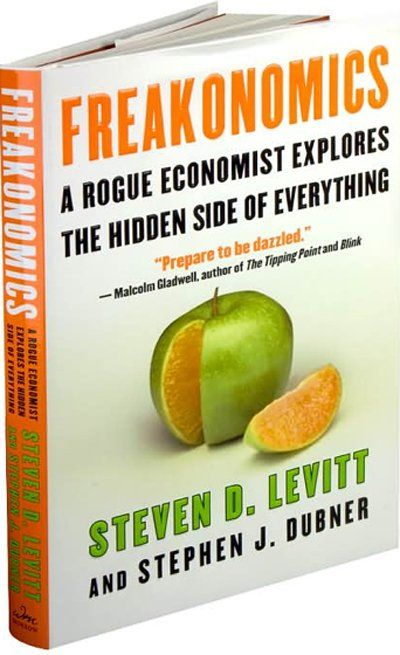 9 books that Malcom Gladwell thinks everyone should read 'Freakonomics' by Steven D. Levitt and Stephen J. Dubner
