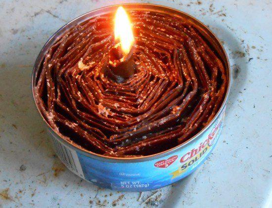 Emergency Candle DIY
