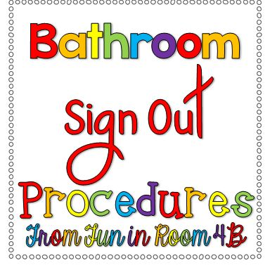 Bathroom Sign Out Sheet bathroom sign out sheet | carpetcleaningvirginia