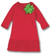 Christmas: Ruffles Trim, Christmas Outfits, Outfits Ideas, Flower