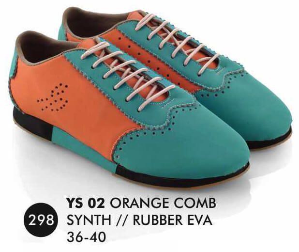 Deskripsi  Warna : Orange comb Ukuran yg tersedia : 36 - 40 Bahan : Sintetis SOL : RUBBER EVA