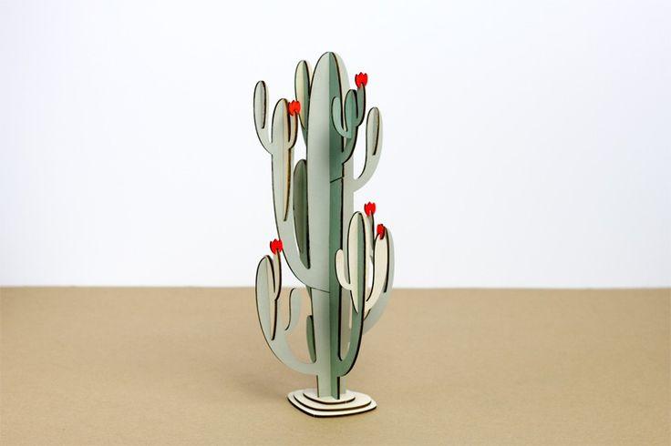 Le Cactus #2 par Papier Tigre