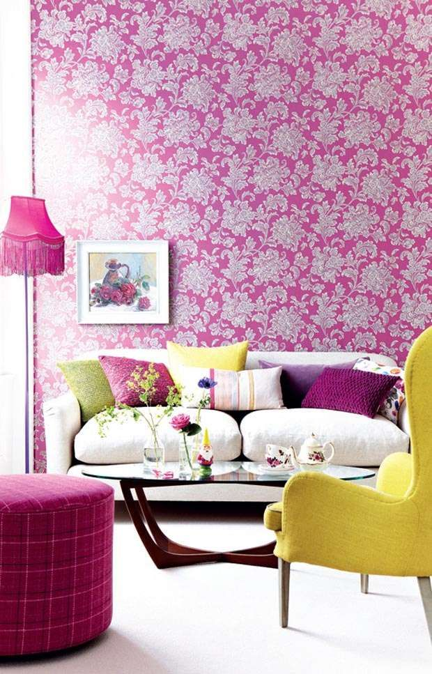 250 best In the pink images on Pinterest | Sweet home, Drawing room ...