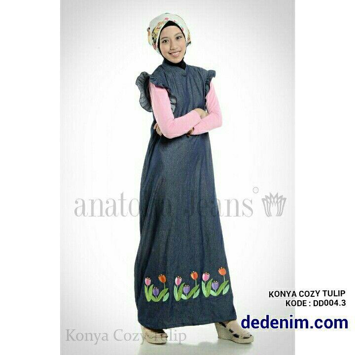 Konya merupakan model terbaru berbahan Denim otentik lembut, Konya merupakan Denim dengan Bordir model Bunga Tulip yang Cozy dan indah dengan kualitas bordir terbaik, casual, simple, dan feminim.  Size : S/M/L/XL/XXL  untuk order silakan ketik : nama-alamat lengkap-kode barang-size-nomer hp kirim ke 081903773006.    #dedenimdotcom #denim #jeans #dress #gamis #kemeja #blouse #woman #onlineshop #olshop #goodOOTD #hijab