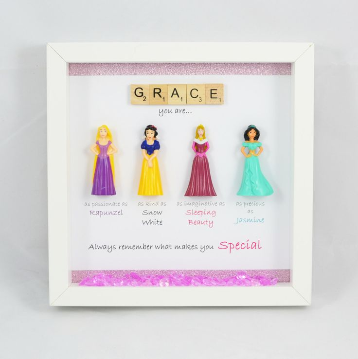 A personal favourite from my Etsy shop https://www.etsy.com/uk/listing/272739802/disney-princess-frame-perfect-mum-sister