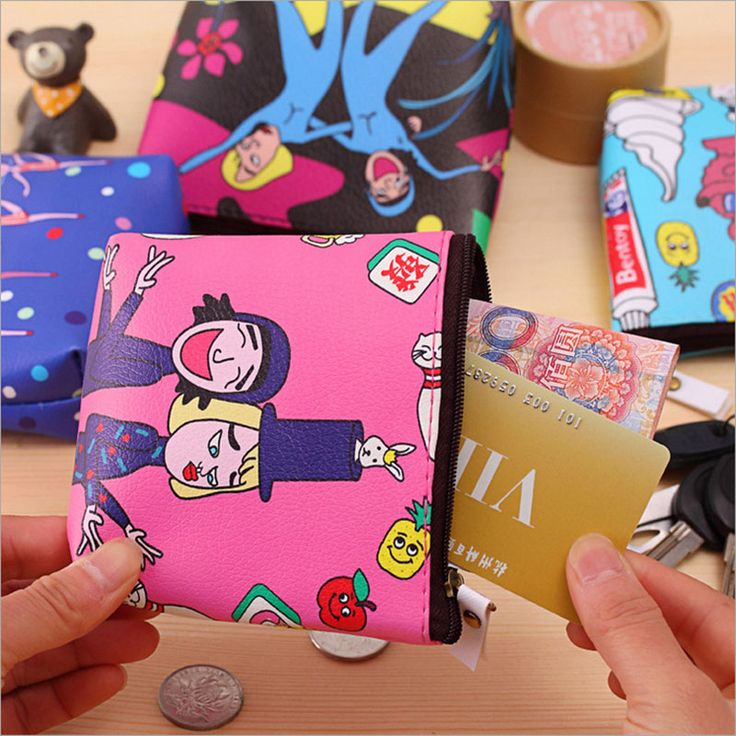 Love this? Visit us at www.bestincases.com for more things like this one! FREE Shipping Worldwide! Get it here ---> https://www.bestincases.com/ladies-cartoon-waterproof-pu-zipper-coin-pouch-mini-wallet/