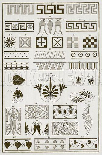 Greek Vase Designs   lostpastremembered: Gorgeous Greeks and their Honey Glazed Shrimp