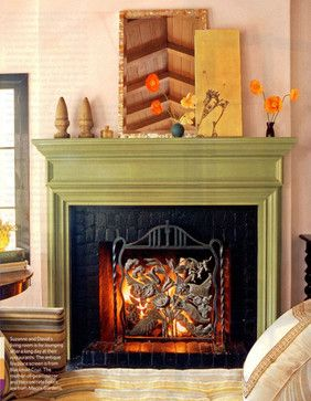 17 Best Images About Painted Fireplace Mantels On