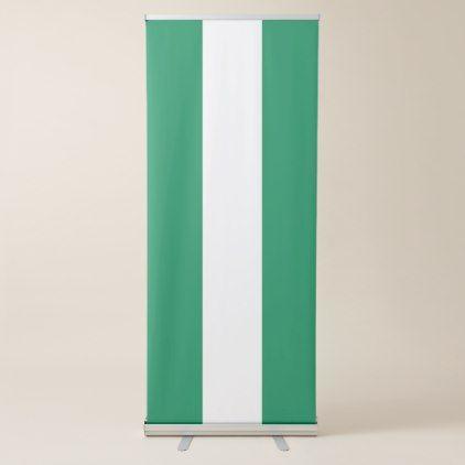 Nigeria Flag Retractable Banner - decor gifts diy home & living cyo giftidea