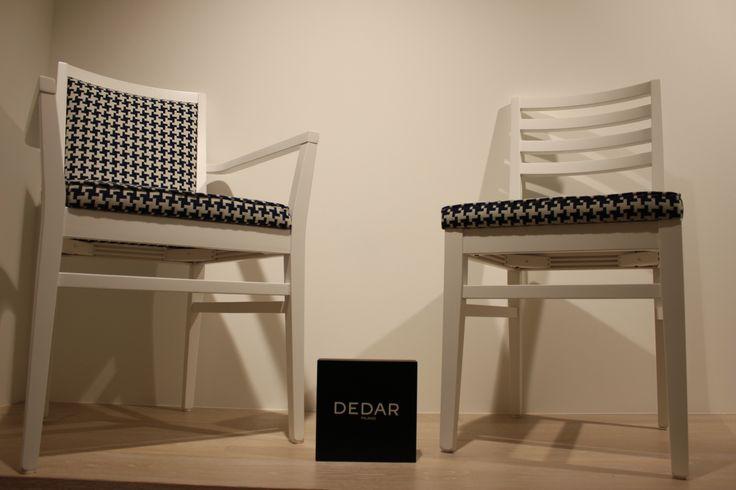 #XEDRA CHAIR AND ARMCHAIR 636 COLLECTION FABRIC BY #DEDAR