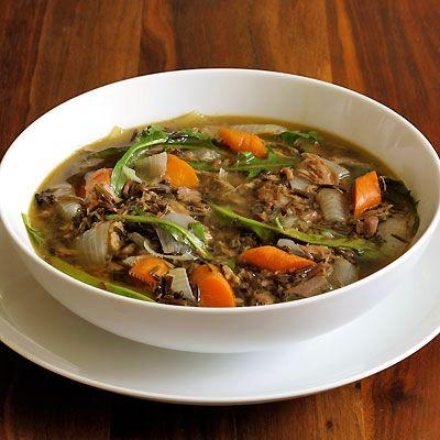 Lamb Soup With Dandelion Greens Recipe Spring Soups Lamb Recipes Soup Recipes