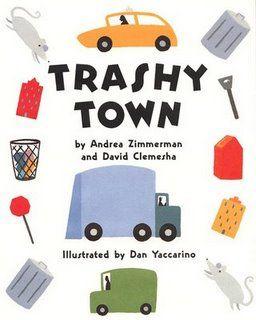 Garbage Day !  Trashy Town garbage truck craft