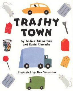 Garbage Day !  Trashy Town garbage truck craft