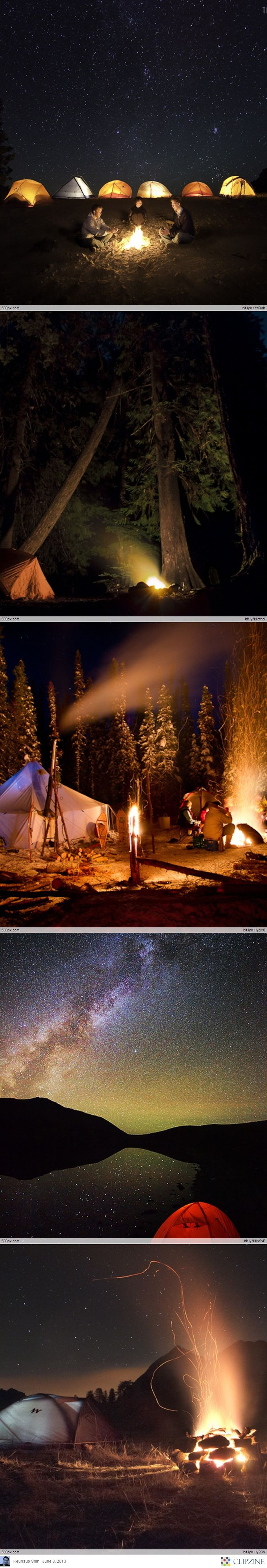 Camping Under the stars!