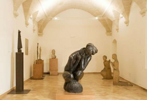 MUSMA - Museum of Contemporary Sculpture - Matera #matera #travel #italy #basilicata #holidays #musma #museum #sculpture #contemporary #unesco