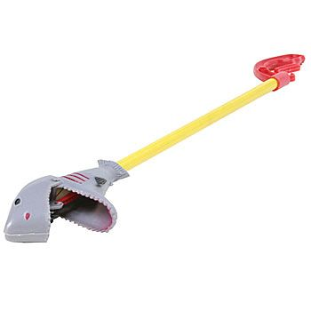 This 18 plastic Shark Pincher is a great birthday favor for your shark or under the sea party.