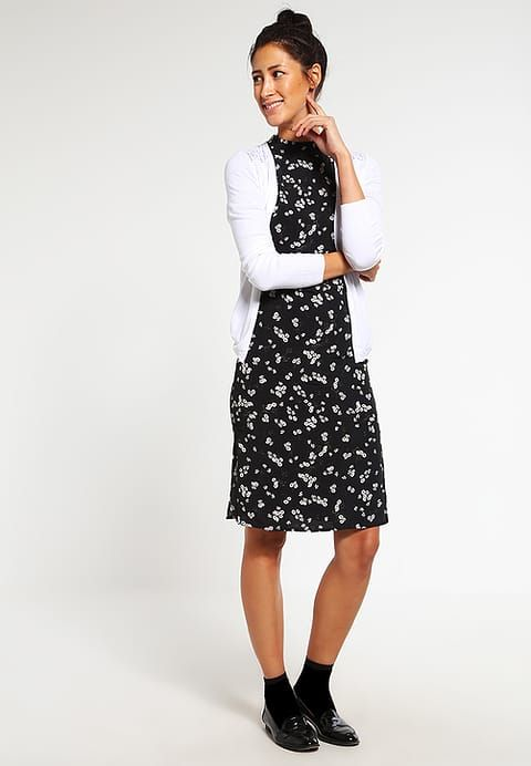 Zomerjurken Miss Selfridge DAISY - Korte jurk - black        Zwart: € 38,45 Bij Zalando (op 11-2-17). Gratis bezorging & retournering, snelle levering en veilig betalen!