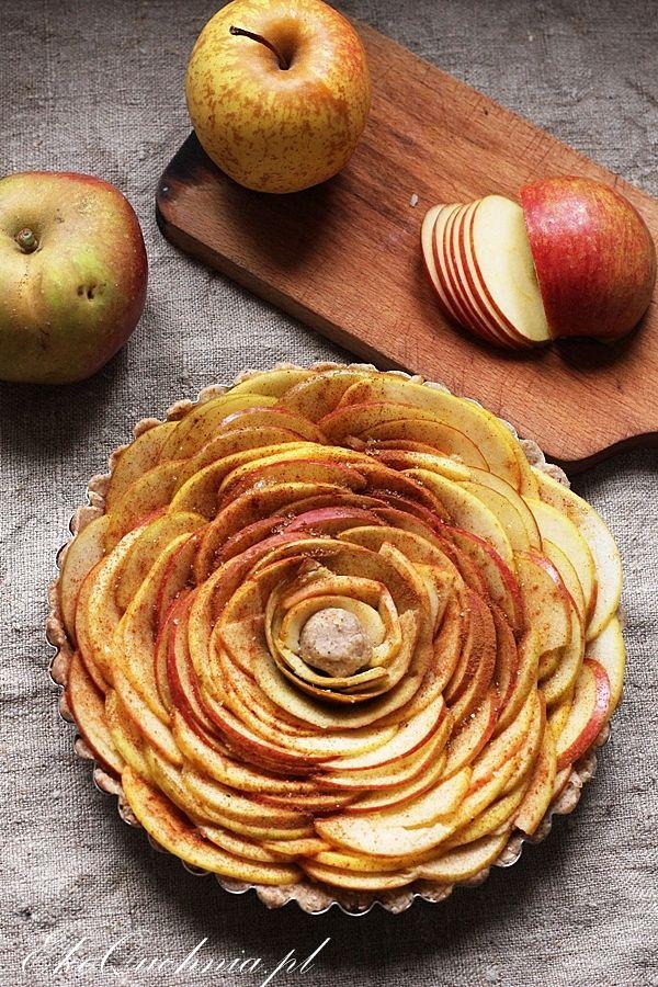 Owsiana tarta z jabłkami (wegańska) | Ekoquchnia
