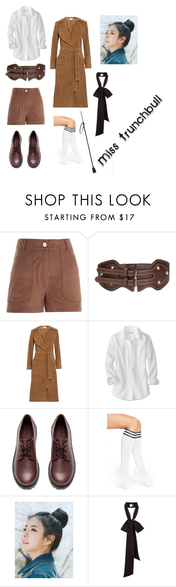 matilda Miss trunchbull by leanda-klaassen on Polyvore featuring Frame Denim, River Island, Arthur George, H&M and pinkage