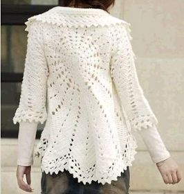 Crochet: BOLERO JACKET